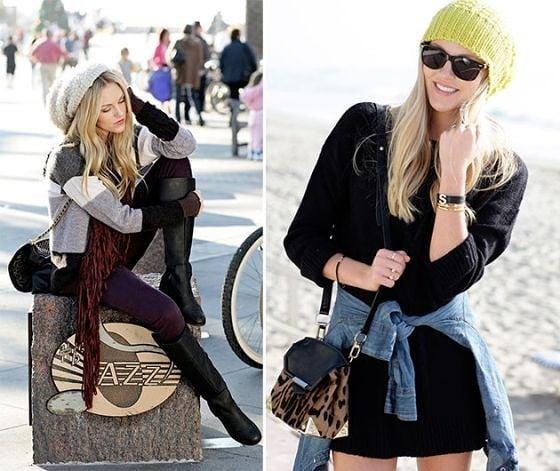 Топ 5 в петък: Пет начина да носим плетена зимна шапка