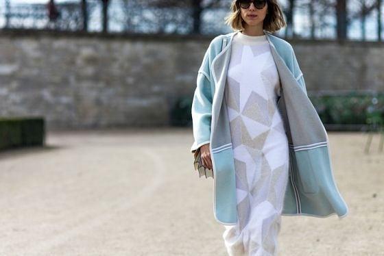 Още от удобството на зимата: Как да носим рокли от плетиво