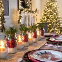 Как да имате красива маса за празника без много усилия