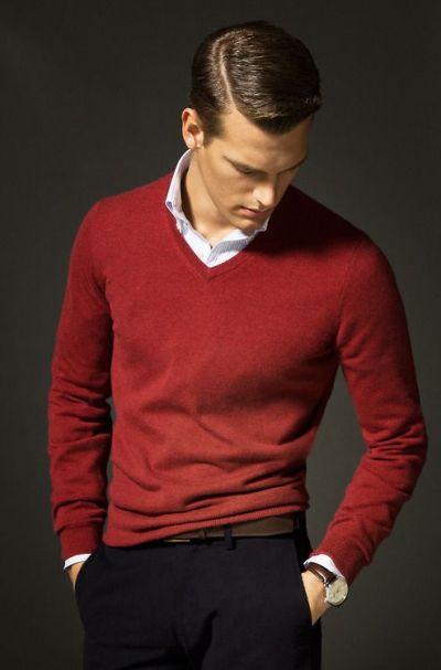 Червеното в мъжкия гардероб – един неочаквано добър must-have за сезона