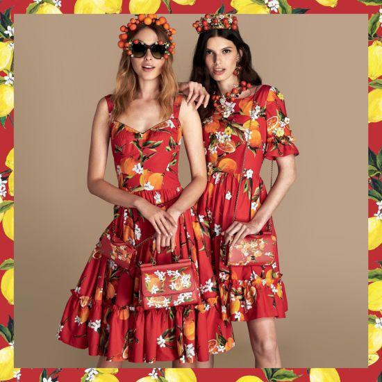 Портокали, мандарини и една нова цветна колекция с китайско вдъхновение от Dolce&Gabbana