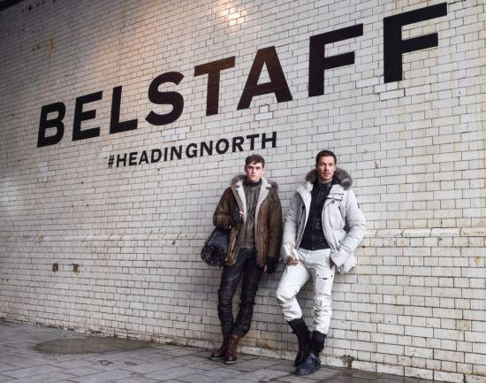 Пътуване на север с новата мъжка колекция на Belstaff