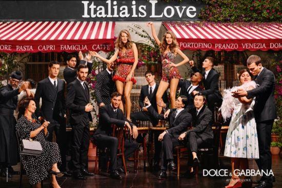 Пролетни приказки по никое време от Dolce&Gabbana