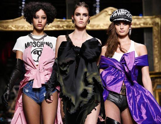 Moschino от Милано, където подиумът гореше…