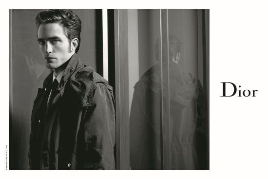 Робърт Патисън за Dior, заснет от самия Лагерфелд