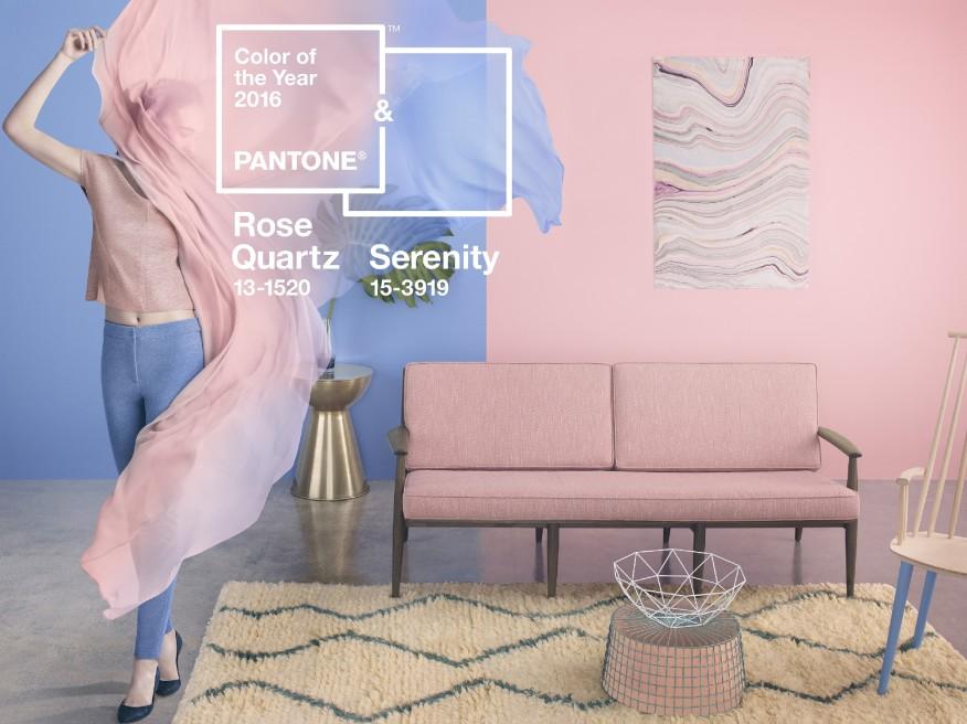 Как да приложим цветовете на Pantone в домашния интериор