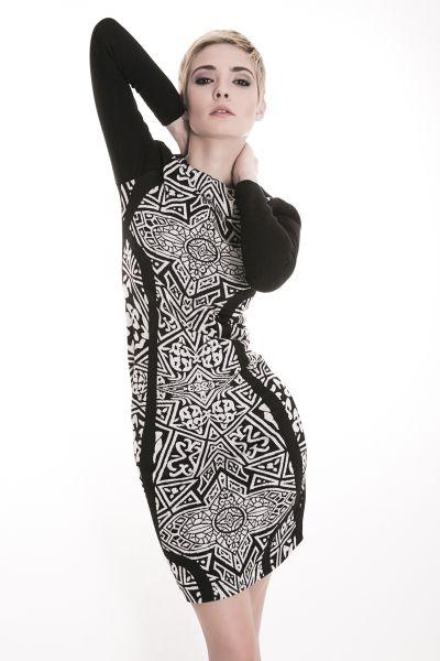 BW dress 1