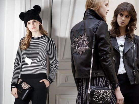 """Karl Lagerfeld и Шупет в забавна и стилна """"колаборация"""" за есен-зима 2016"""