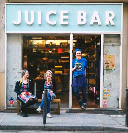 Петте най-добри здравословни барове в Париж