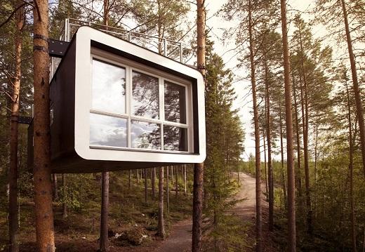 Treehotel – усамотение и модерен дизайн насред гората