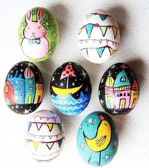 Яйца-изкуство, яйца-фантазия – Великден с по-различен цвят