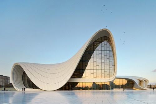 Heyday Aliyev Center in Baku, Azerbaijan