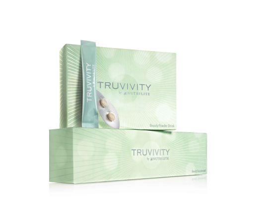 Truvivity group product shot on white background
