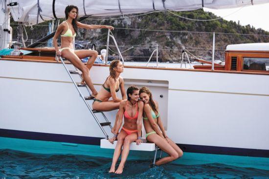 Остров Сейнт Бартс в цветовете на Victoria's Secret