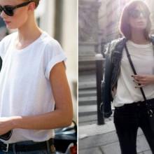 """Бялата тениска – новата """"малка черна рокля"""" на пролет-лято 2017"""