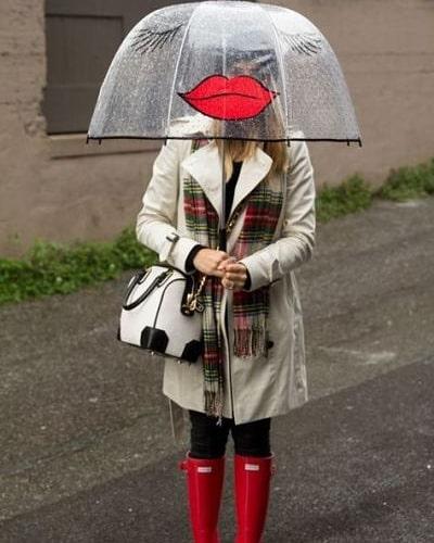 Когато вали, а чадърът само прави облеклото ни още по-завършено или… забавно