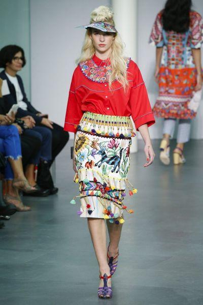 Stella Jean и нейната етно, цветна и много еклектична мода