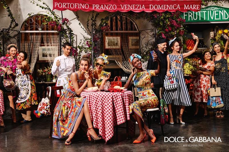 Viva Неапол! Автентичен италиански колорит в кампанията на D&G за есен\зима 2016\17