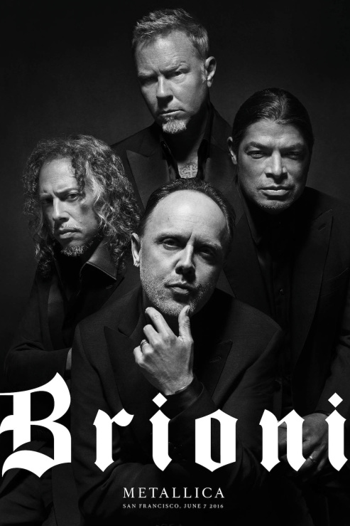 """Brioni и Metallica си казаха """"да"""" за рекламна кампания"""