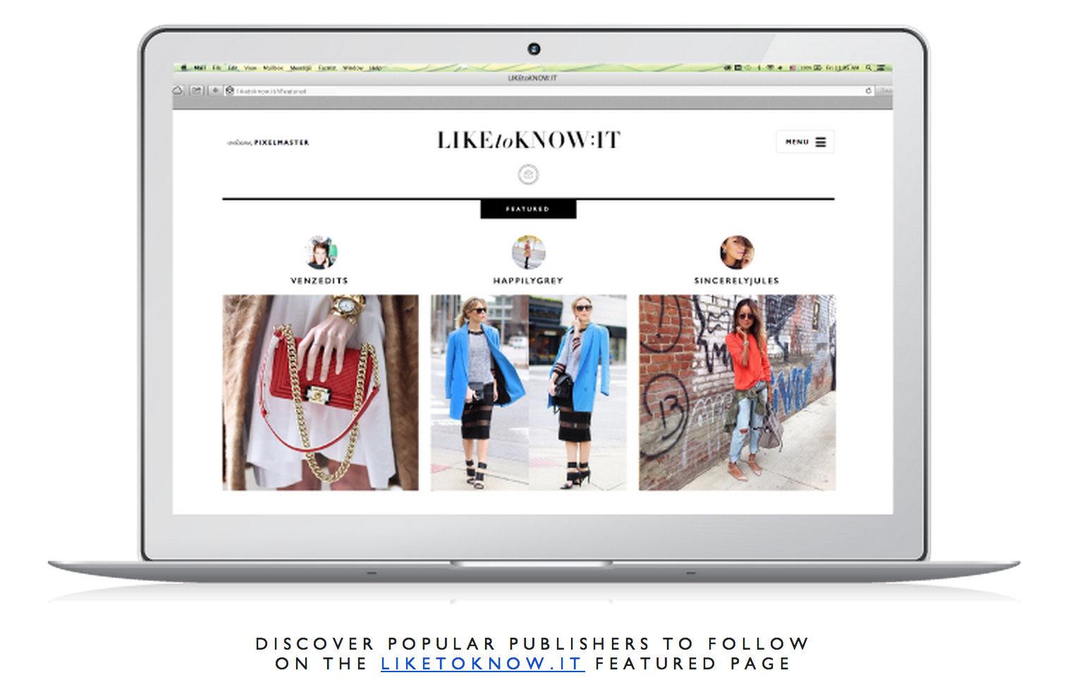 Най-новият хит в онлайн пазаруването – LIKETOKNOW.IT