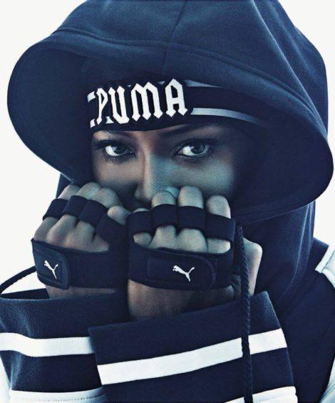 Познахте ли я? Наоми Кембъл за Fenty Puma by Rihanna