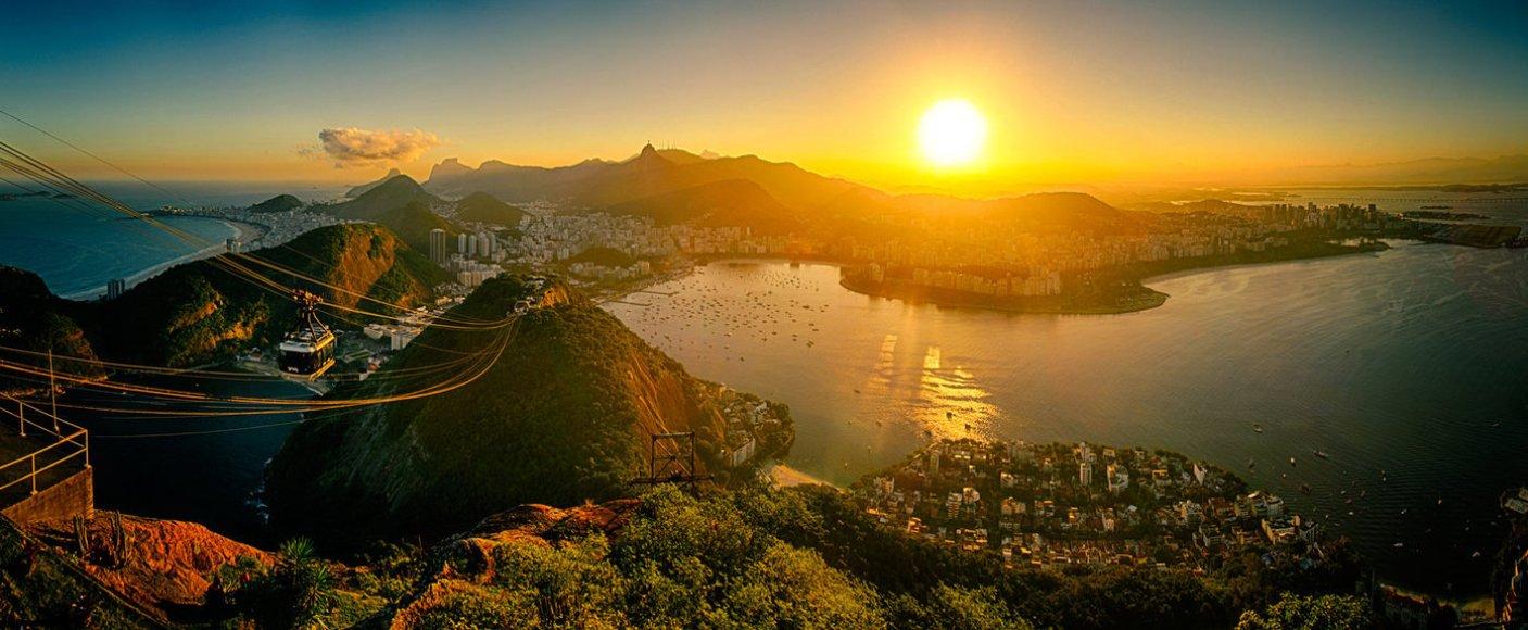 Поздрави от Рио! С 10 спиращи дъха снимки