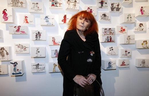 Sonia Rykiel's Drawings Exhibition Launch
