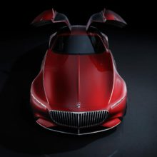 Mercedes-Maybach Vision 6 води бъдещето