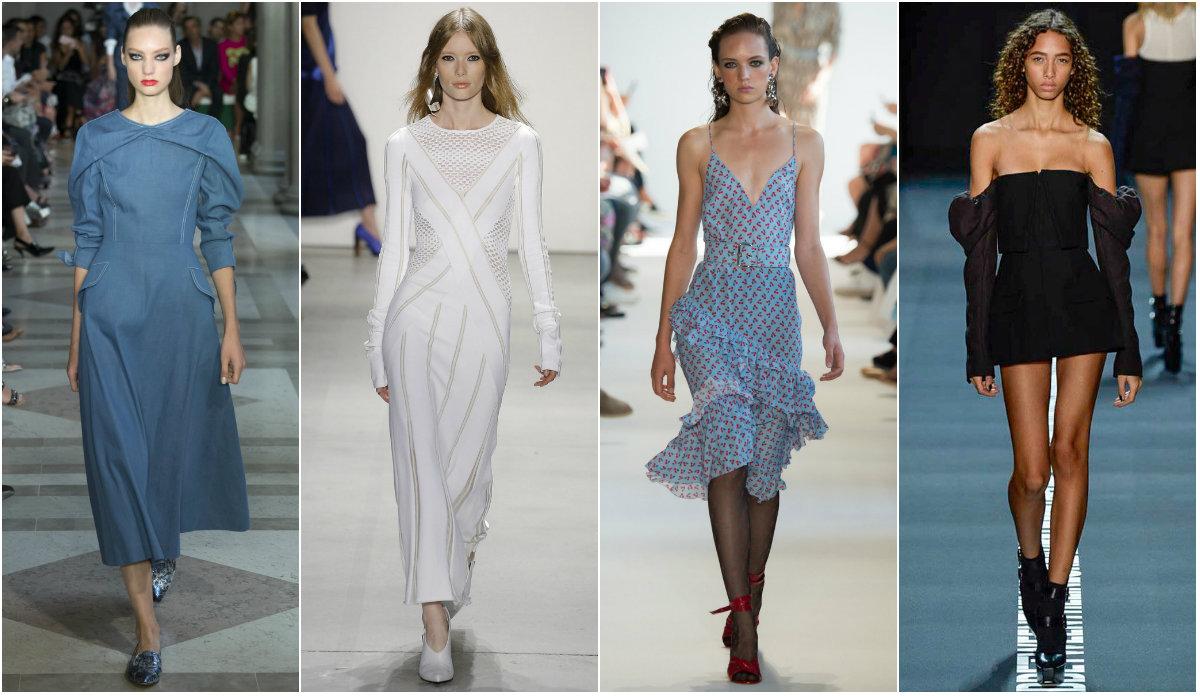 Деним и черно-бял ефект в колекциите от Седмица на модата в Ню Йорк