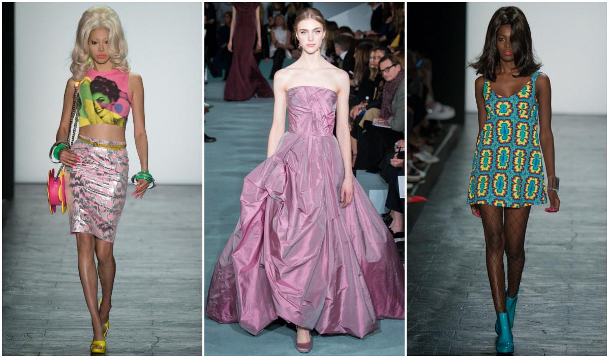 Ретро очарование и бароков полъх на Седмица на модата в Ню Йорк