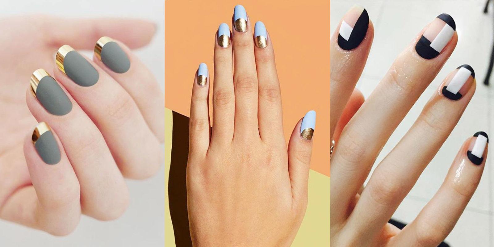 Матирани нокти – хитът на тази есен