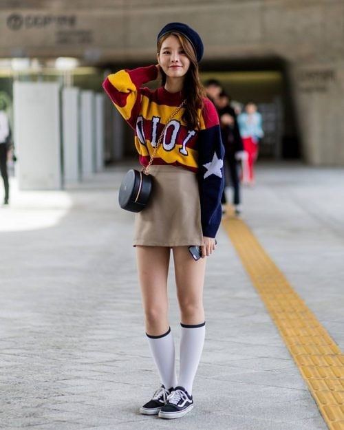 Street style попадения от Сеул