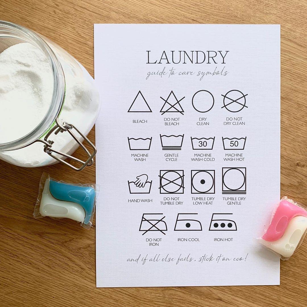 Тайният език на етикетите върху дрехите
