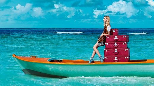Оставете Louise Vuitton да ви води… по света