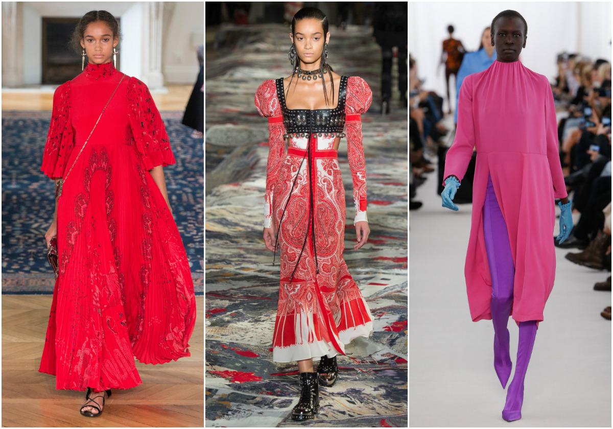 Ярки цветове и изтънчен финес от Седмица на модата в Париж