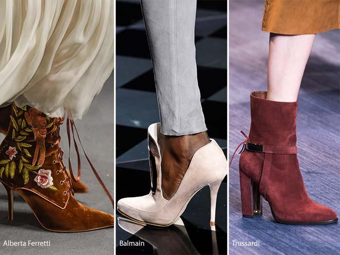 Назаем от есен\зима 2016\17: обувки от кадифе