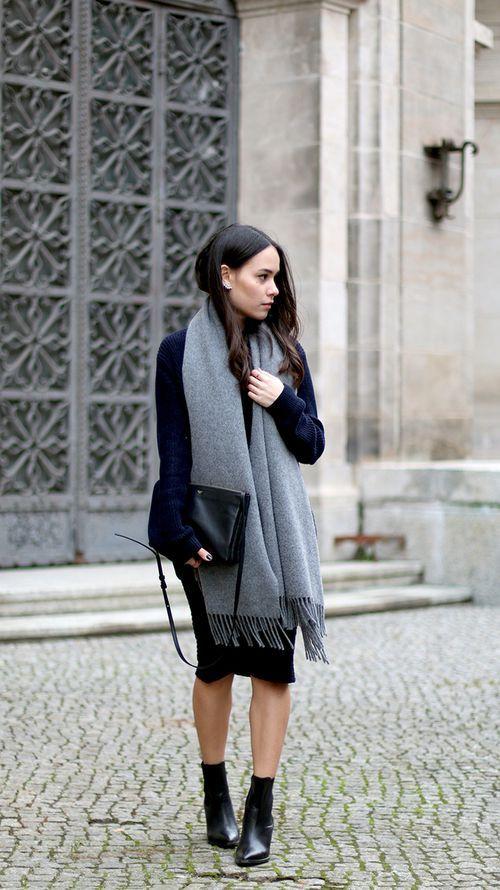 10 стилни прегръдки с шал