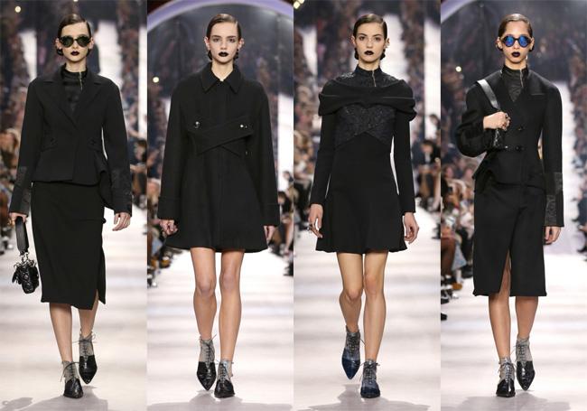 Dior повдигат завесата на есен\зима 2016\17