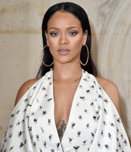 PARIS, FRANCE - SEPTEMBER 30: Rihanna attends the Christian Dior show of the Paris Fashion Week Womenswear Spring/Summer 2017 on September 30, 2016 in Paris, France. (Photo by Pascal Le Segretain/Getty Images for Dior)