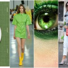 Назад към природата с цвета на 2017 Пролетно зелено