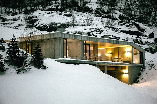 Да живееш в планински пейзаж – в Норвегия го могат