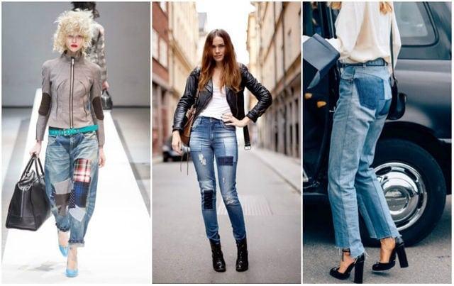 Как да носим: Пачуърк джинси