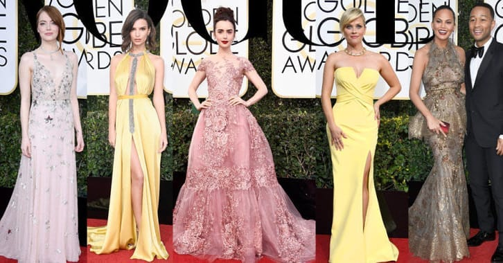 """Най-красивите рокли на """"Златен глобус 2017"""""""