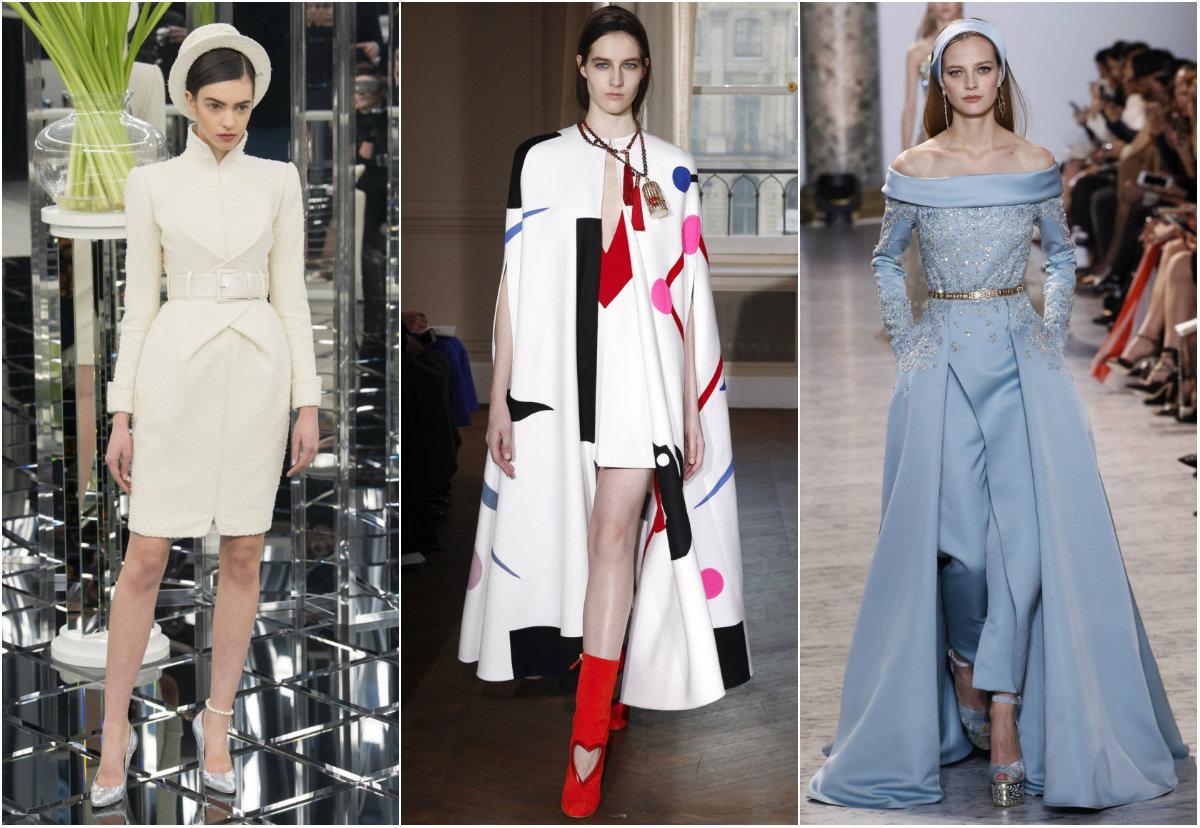 Винтидж блясък и флорални мотиви на Седмица на висшата мода Париж