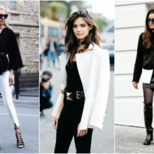 Как да носим: Дрехи в черно и бяло