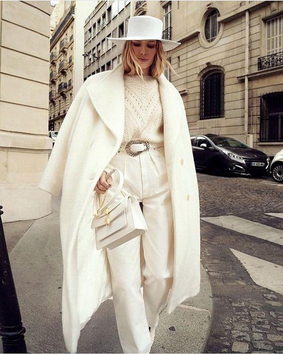 Как да носим: Бяло от глава до пети