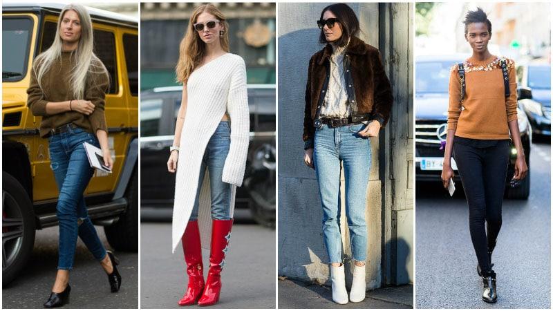 Как да носим: Skinny Jeans
