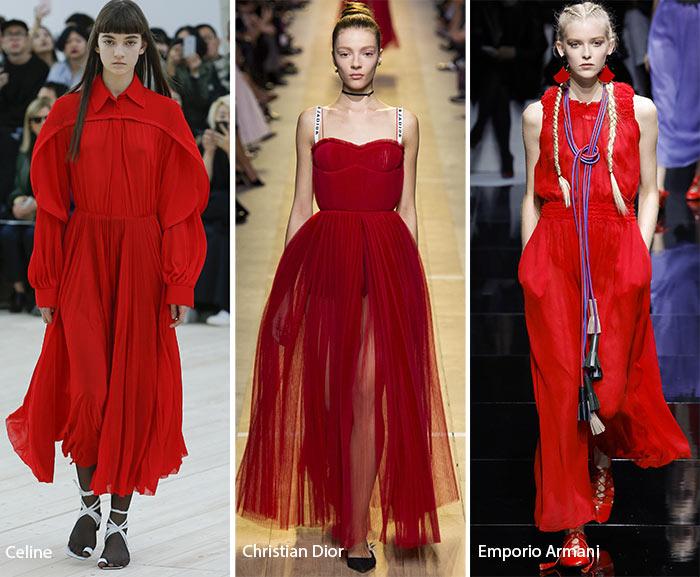 Тенденции: Страстно червено