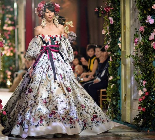 Dolce & Gabbana очароваха Япония с ревю