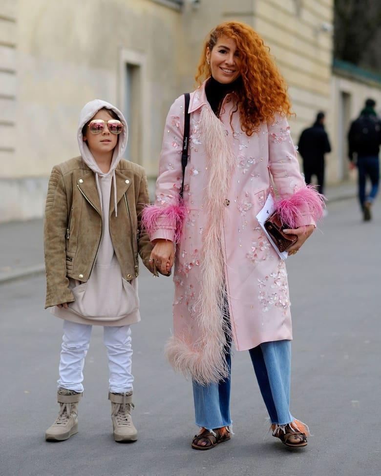 Синът на една Street Style икона